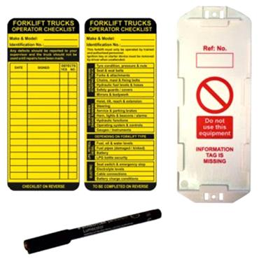 CITEC Forklift Tag Kit & Accessories