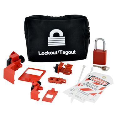 Brady 95538 Breaker Lockout Pouch Kit