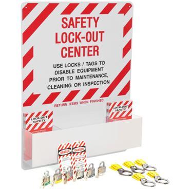 Brady 3001 Safety Lockout Center Kit