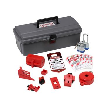 Brady 65289 Basic Electrical Lockout Toolbox