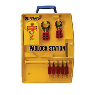 Brady 105928 Padlock Station
