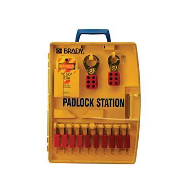 Brady 105930 Padlock Station