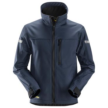 Snickers 1200 AllroundWork Softshell Jacket - Navy/Black