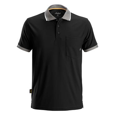 Snickers 2724 Allroundwork 37.5 Technology Polo Shirt - Black