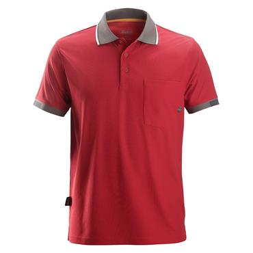 Snickers 2724 Allroundwork 37.5 Technology Polo Shirt - Chili Red