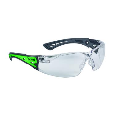 Bolle RUSHPGLO Rush+ Glow Phosphorescent Glasses - Clear
