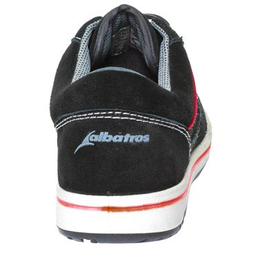 Albatros Freestyle Low S1P ESD SRC Black Safety Trainers