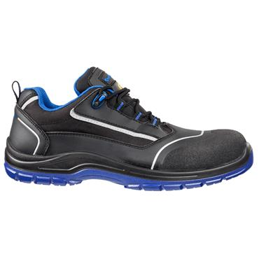 Albatros Bluetech Low S3 ESD SRC Black/Blue Safety Shoes
