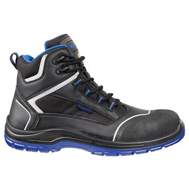 Albatros Bluetech Mid S3 ESD SRC Black/Blue Safety Boots