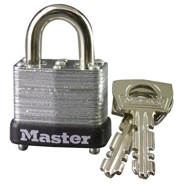 Masterlock MAS-10 Laminated Steel Warded Padlock