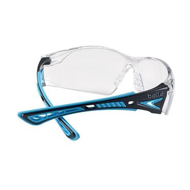 Bolle RUSHPPSIB Rush+ Safety Glasses - Clear