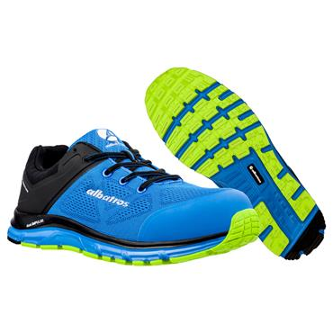 Albatros Lift Impulse Low S1P ESD Blue/Black Safety Trainers