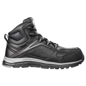 Albatros Vigor Impulse Mid S3 ESD Black Safety Boots