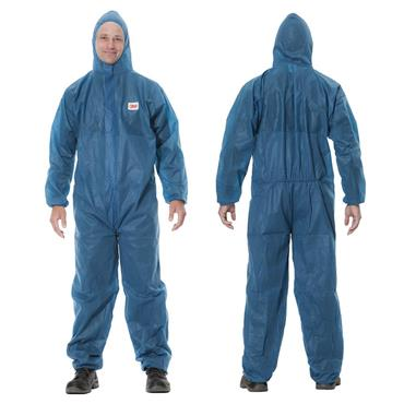 3M 4500 Protective Disposable Coverall - Blue