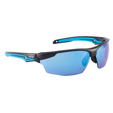 Bolle TRYOFLASH Tryon Safety Glasses - Blue Flash