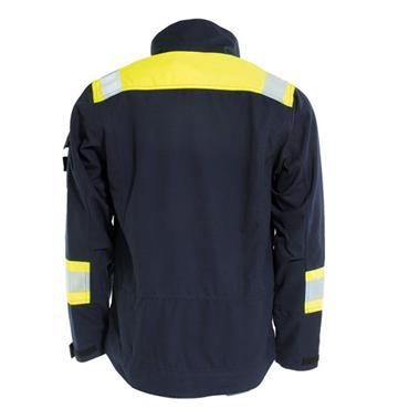 Tranemo 6030 81 Tera TX Non-Metal Flame Retardant Jacket - Yellow/Navy