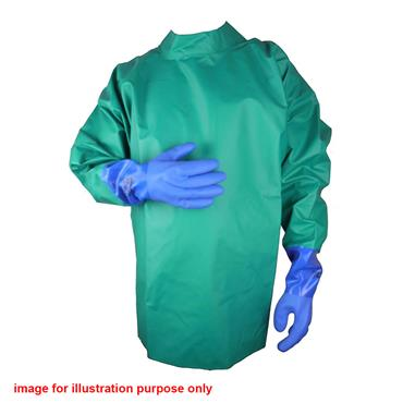 Alpha Solway CMSC Chemical Protective Surgical Style Coat - Green