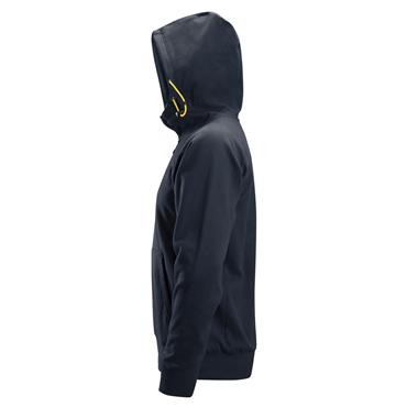 Snickers 2880 Logo FZ Hoodie - Navy