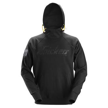 Snickers 2881 Logo Hoodie - Black