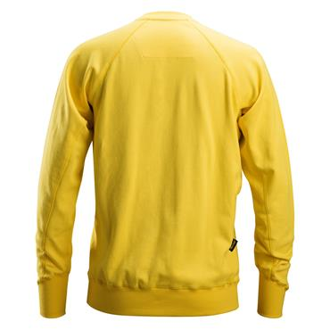 Snickers 2882 Logo Sweatshirt - Yellow