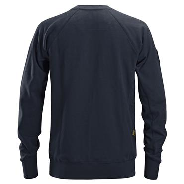 Snickers 2882 Logo Sweatshirt - Navy