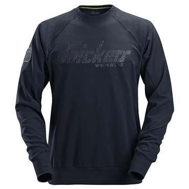 Snickers 2882 Logo Sweatshirt - Navy