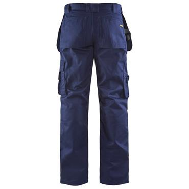 Blaklader 1530 Craftsman Trousers - Navy Blue
