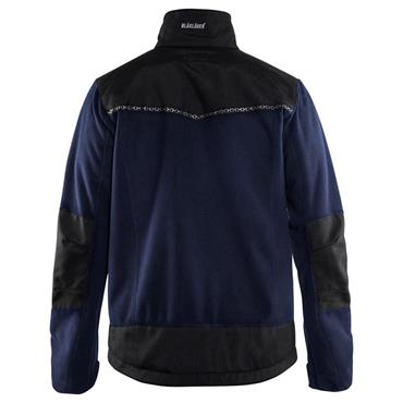 Blaklader 4955 Windproof Fleece Jacket - Navy Blue/Black
