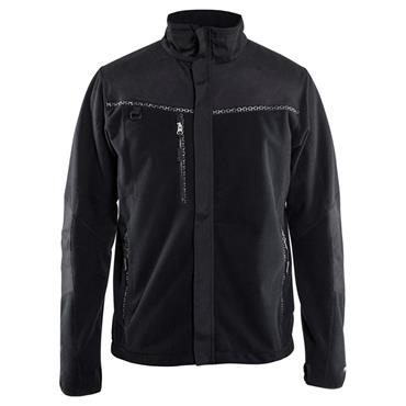 Blaklader 4955 Windproof Fleece Jacket - Black