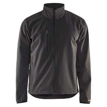 Blaklader 4952 Light Softshell Jacket - Dark Grey/Black