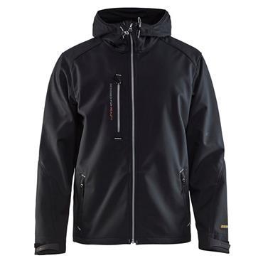 Blaklader 4949 Pro Softshell Jacket - Black/Silver