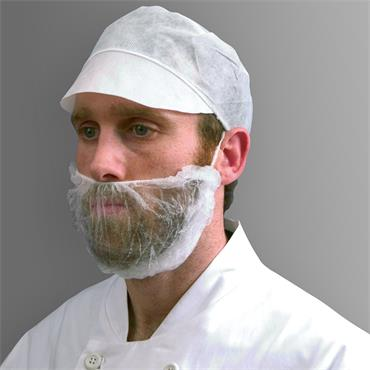 HPC DK05 1000 Piece Non-Woven Beard Mask