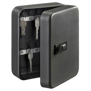 Burg KC20C 20 Hooks Key Cabinet