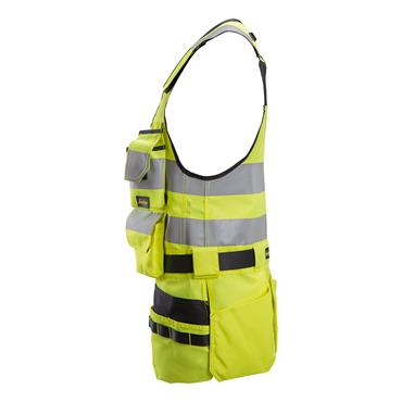 Snickers 4230 AllroundWork High-Visibility Tool Vest - Yellow/Black