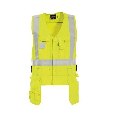 Tranemo 5860 81 Tera TX Flame Retardant Craftsman Vest - Yellow
