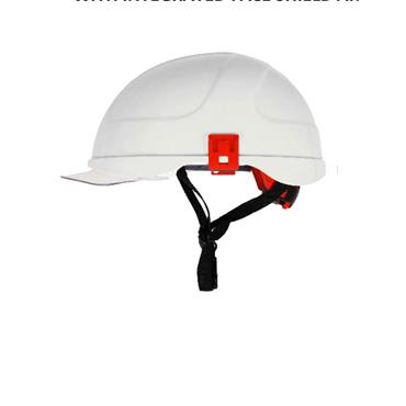 Tranemo H058S 2 Arc Electrically Insulated Helmet - White