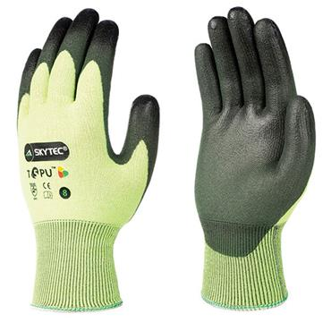 Skytec T5PU Palm Coated Cut Resistant Gloves