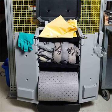 Brady SKA-K2 83 Litre Allwik Universal Mobile Spill Kaddie Kit