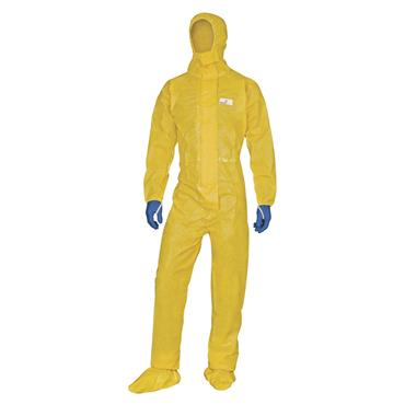 Delta Plus DT300 Deltachem Overalls with Hood - Yellow