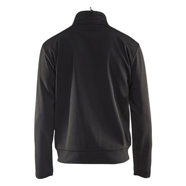 Blaklader 3362 Full Zip Sweatshirt - Black/Red