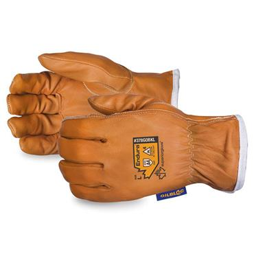 Superior Glove Endura Goat Grain Arc Flash Driver Gloves with Waterstop