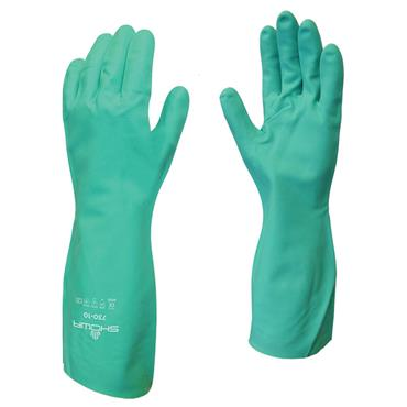 Showa 730 Flock Lined Chemical Resistant Gloves