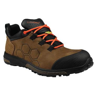 Lavoro Yoda S3 ESD Brown Safety Shoes
