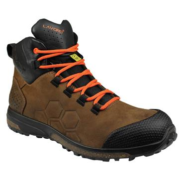 Lavoro Lando S3 ESD Brown Safety Boots