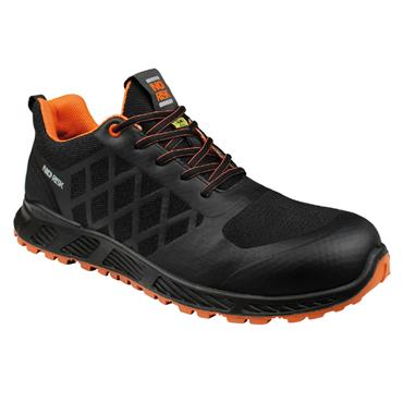 No Risk Sooth S3 ESD Black Safety Trainers