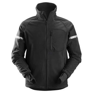 Snickers 8005 AllroundWork Windproof Fleece Jacket - Black