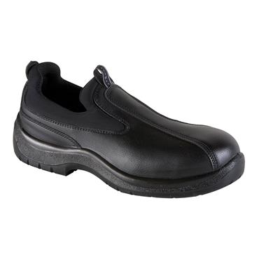 Exena Malibu S1 SRC Black Slip Safety Shoes