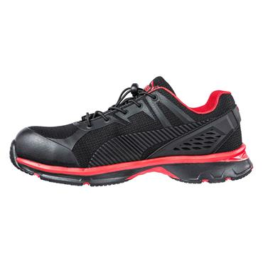 Puma Fuse Motion 2.0 Low S1P ESD HRO SRC Black/Red Safety Shoes