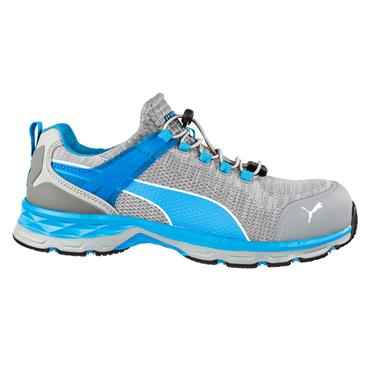 Puma Xcite Low S1P ESD HRO SRC Grey/Blue Safety Shoes