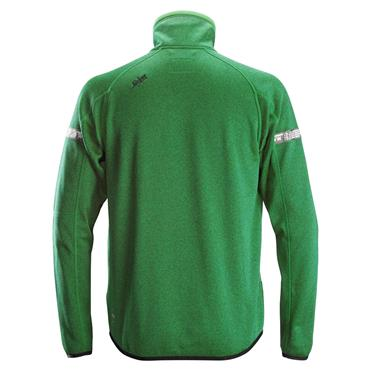 Snickers 8004 AllroundWork 37.5 Fleece Jacket - Apple Green